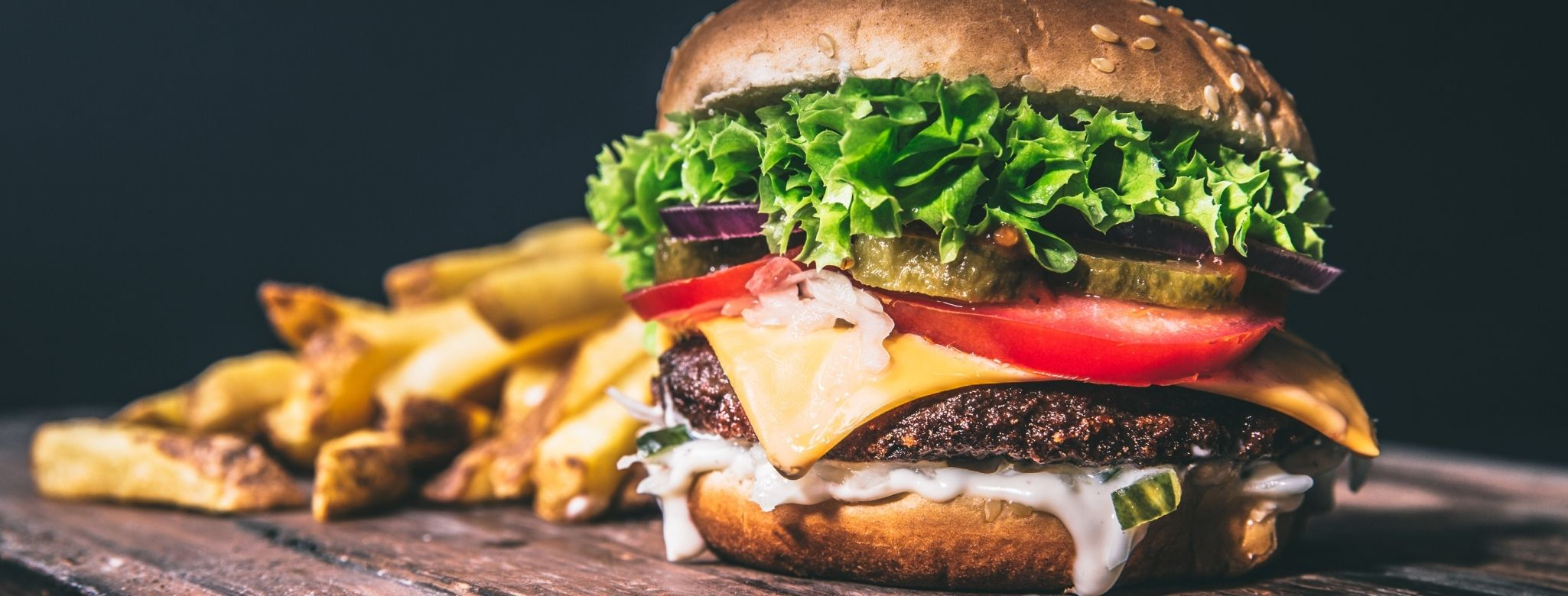 Photo d'un burger